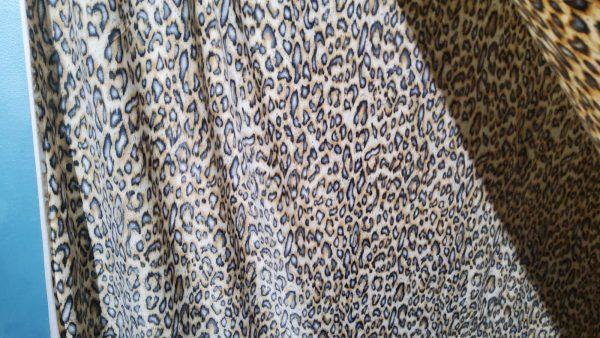 Roberto Cavalli polyester Fabric leopard print