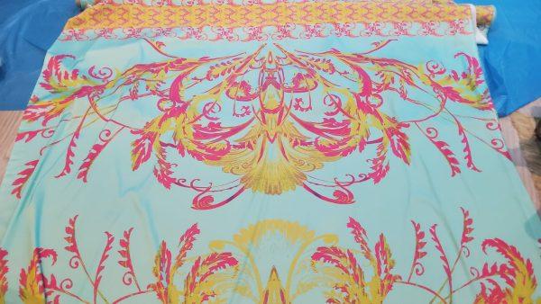 Italian silky polyester fabric