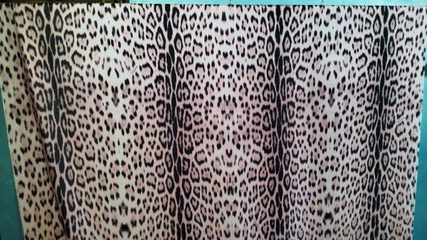 Roberto Cavalli silk fabric leopard print