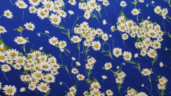 Italian fabric chamomile pattern